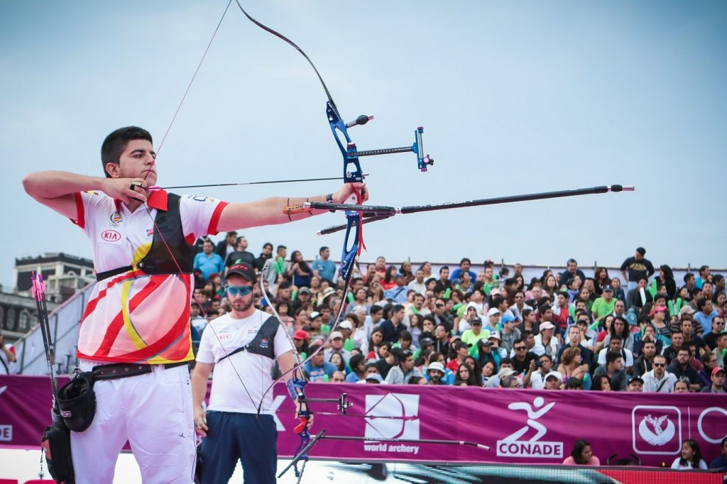 Garcia continues medal-laden year with Archery World Cup final gold