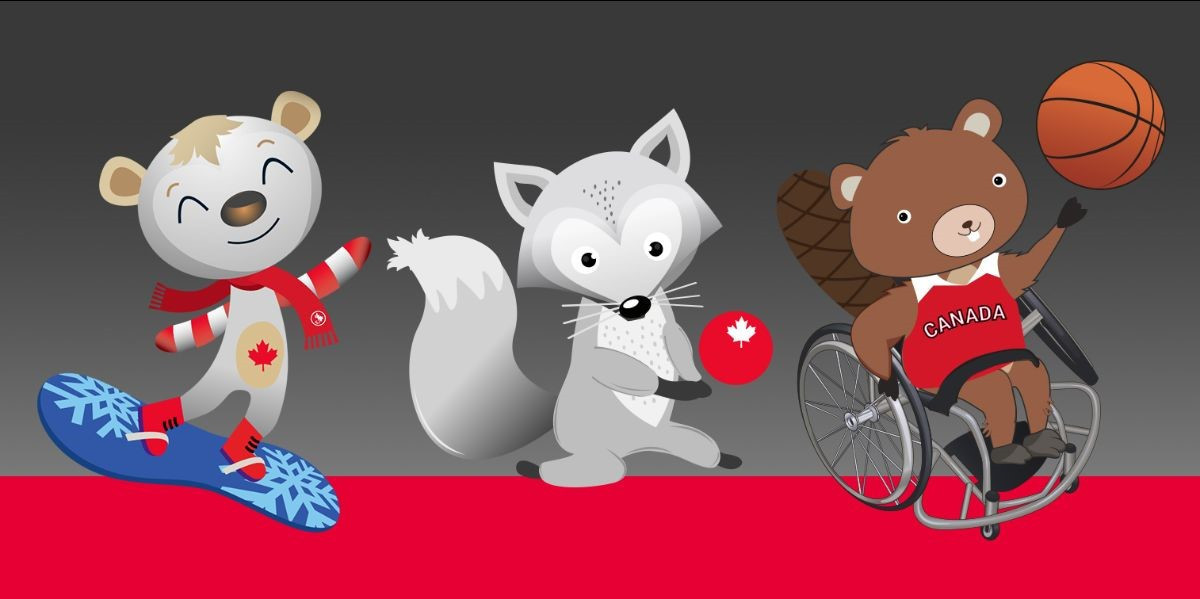 Canadian Paralympic Committee is asking the public to pick their preferred mascot from three options ©CPC