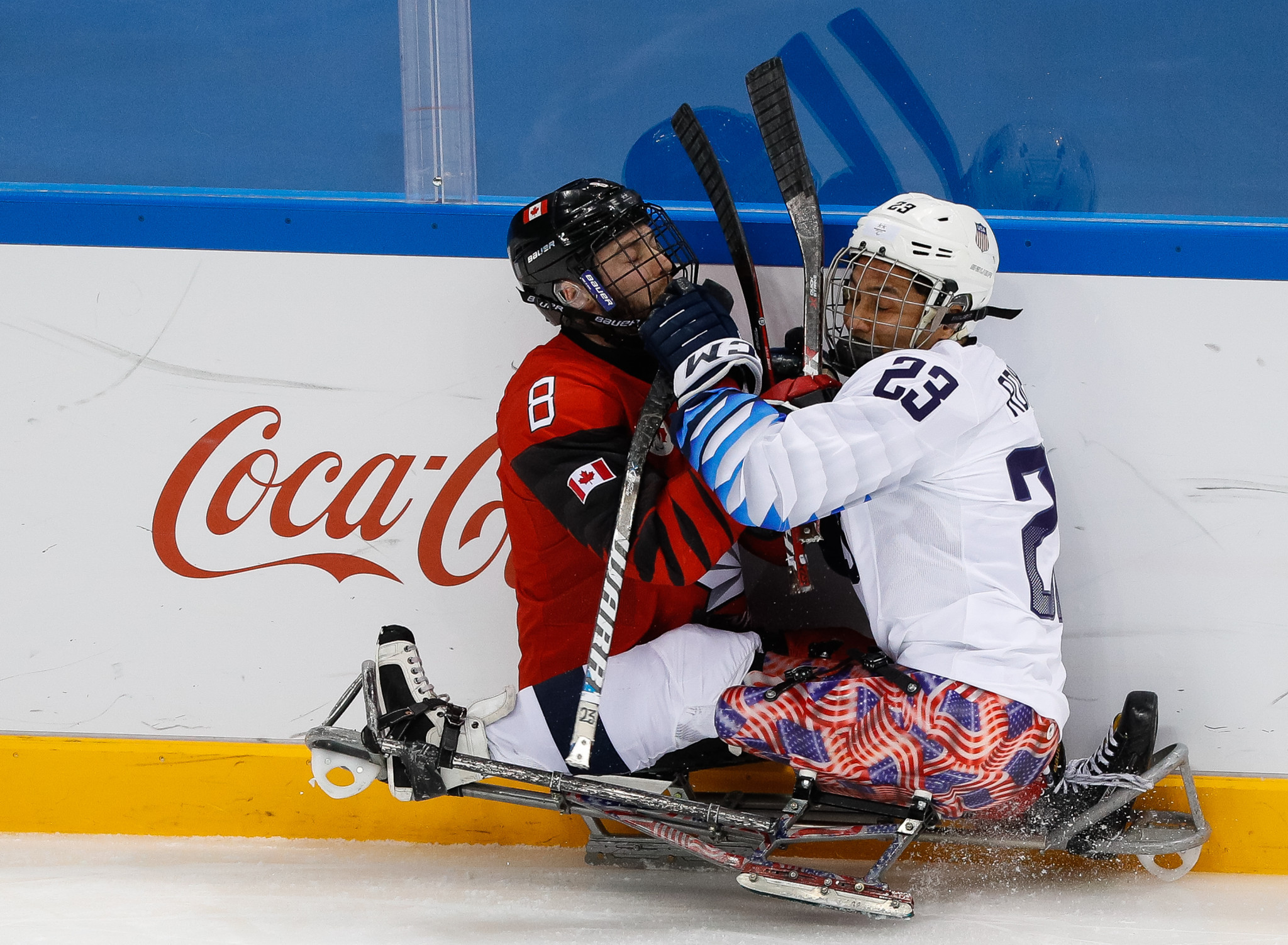 Canada and the United States will face eachother at the 2019 World Para Ice Hockey Championships in a rematch of the 2018 Pyeongchang Paralympic final, which the US won ©Getty Images