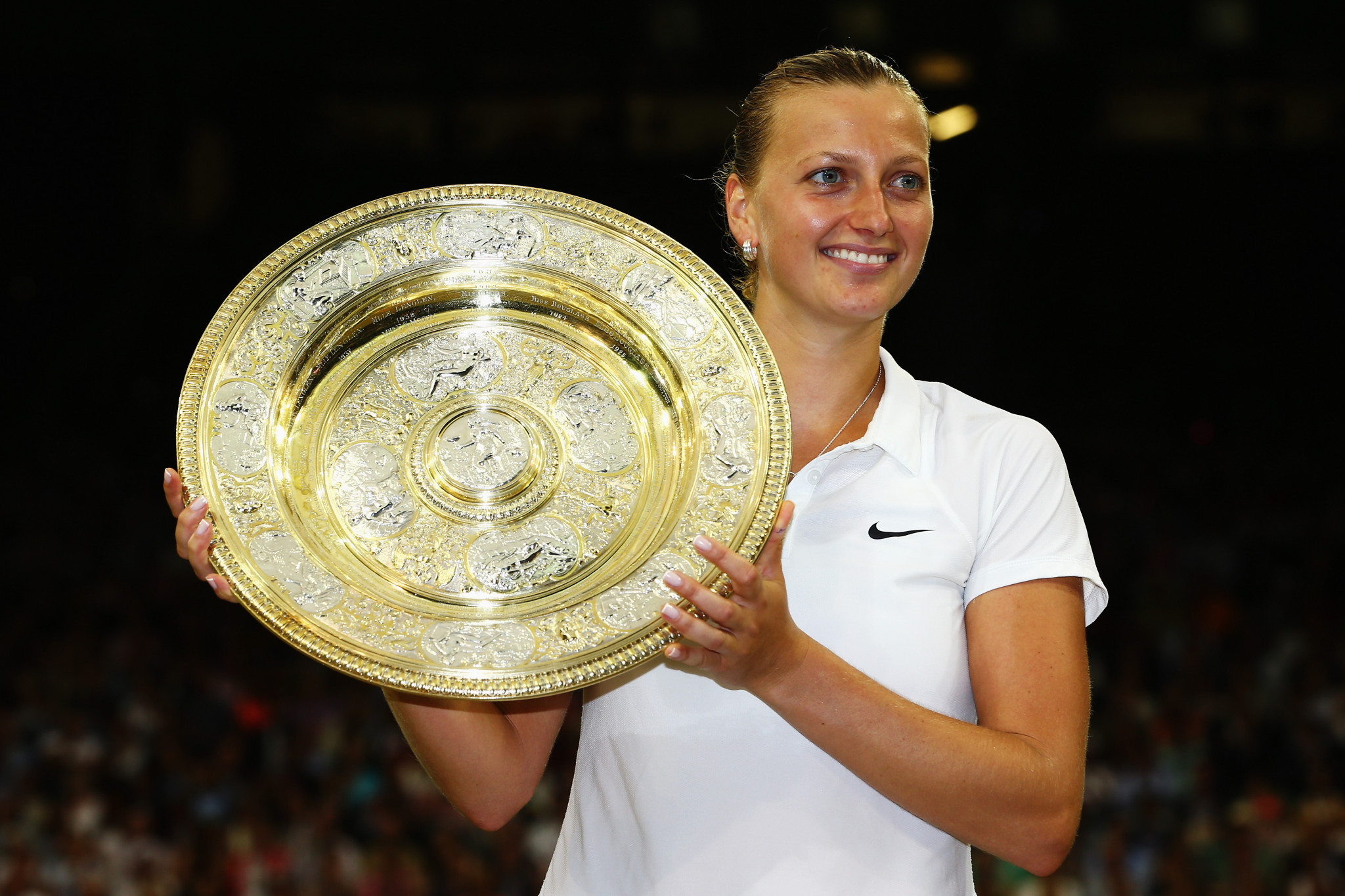 Petra Kvitová has won Wimbledon twice, in 2011 and 2014 ©Getty Images