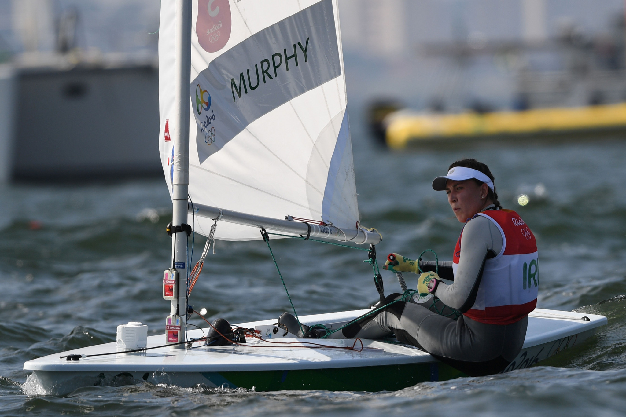 Olympic silver medallist Annalise Murphy will be among 13 Irish sailors based at the new HQ in Dún Laoghaire ©Getty Images
