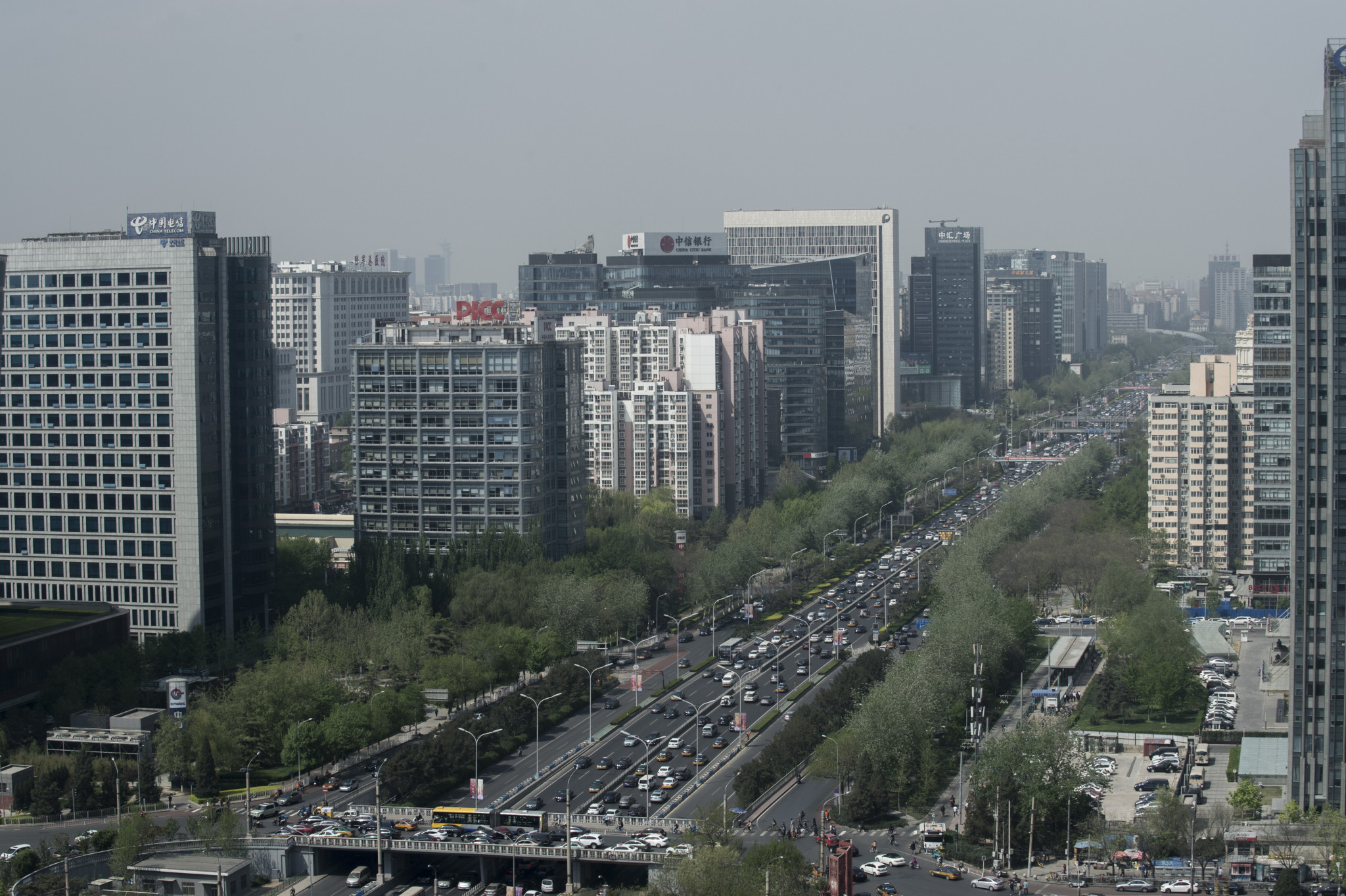 The 5G network will cover the core zone of Beijing, the areas within the Second Ring Road ©Getty Images