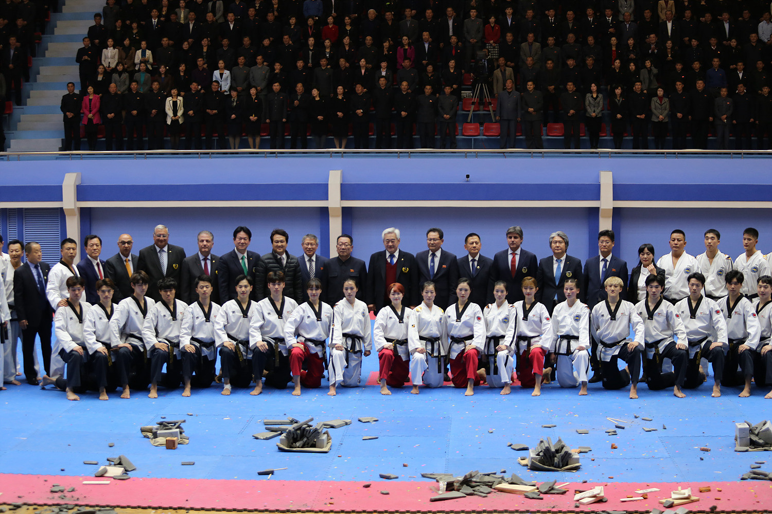 Joint taekwondo demonstrations by North Korean and South Korean athletes will be held next month to mark the 25 years since the sport was granted Olympic inclusion ©WTF