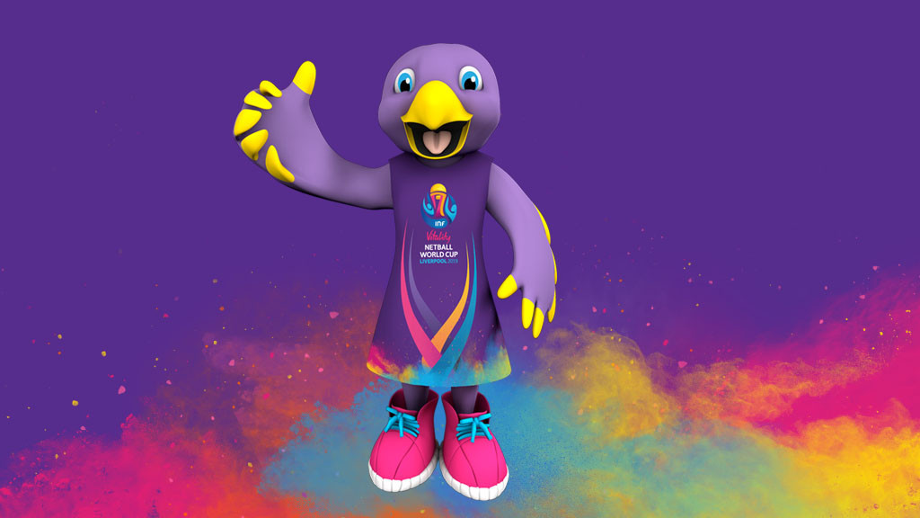The mascot for the 2019 Netball World Cup has been revealed ©2019 Netball World Cup