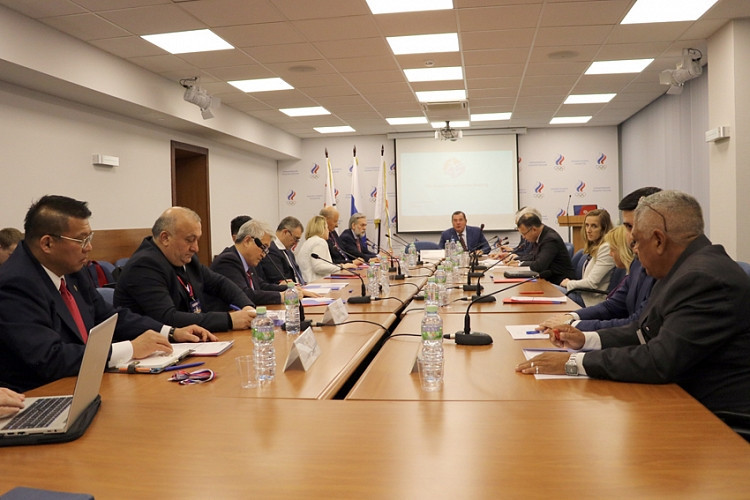 The FIAS Executive Committee met in Moscow ©FIAS