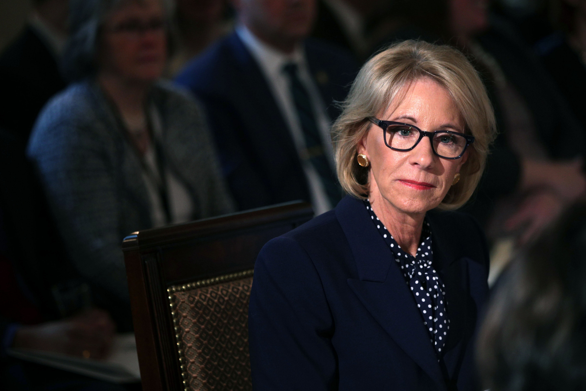 American Education Secretary criticised for proposed Special Olympics cuts
