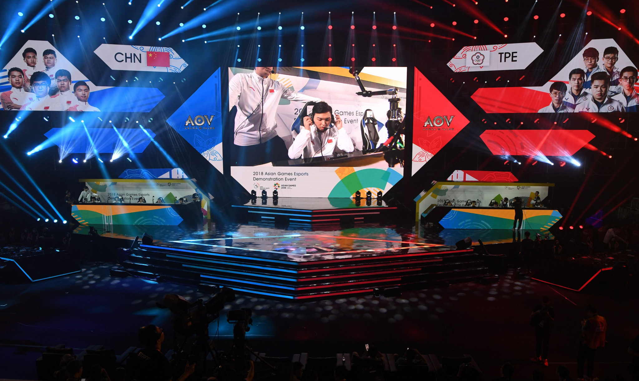 Arena of Valor was among the six titles used when esports featured as a demonstration event at the 2018 Asian Games in Jakarta and Palembang ©Getty Images
