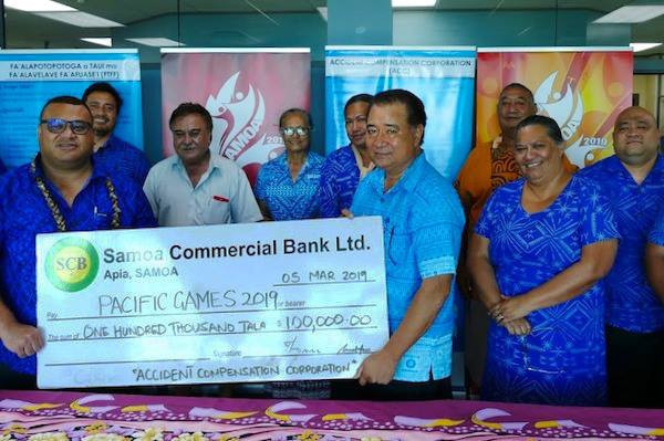 The recruitment of sponsors has been hailed as a major plus ©Samoa 2019