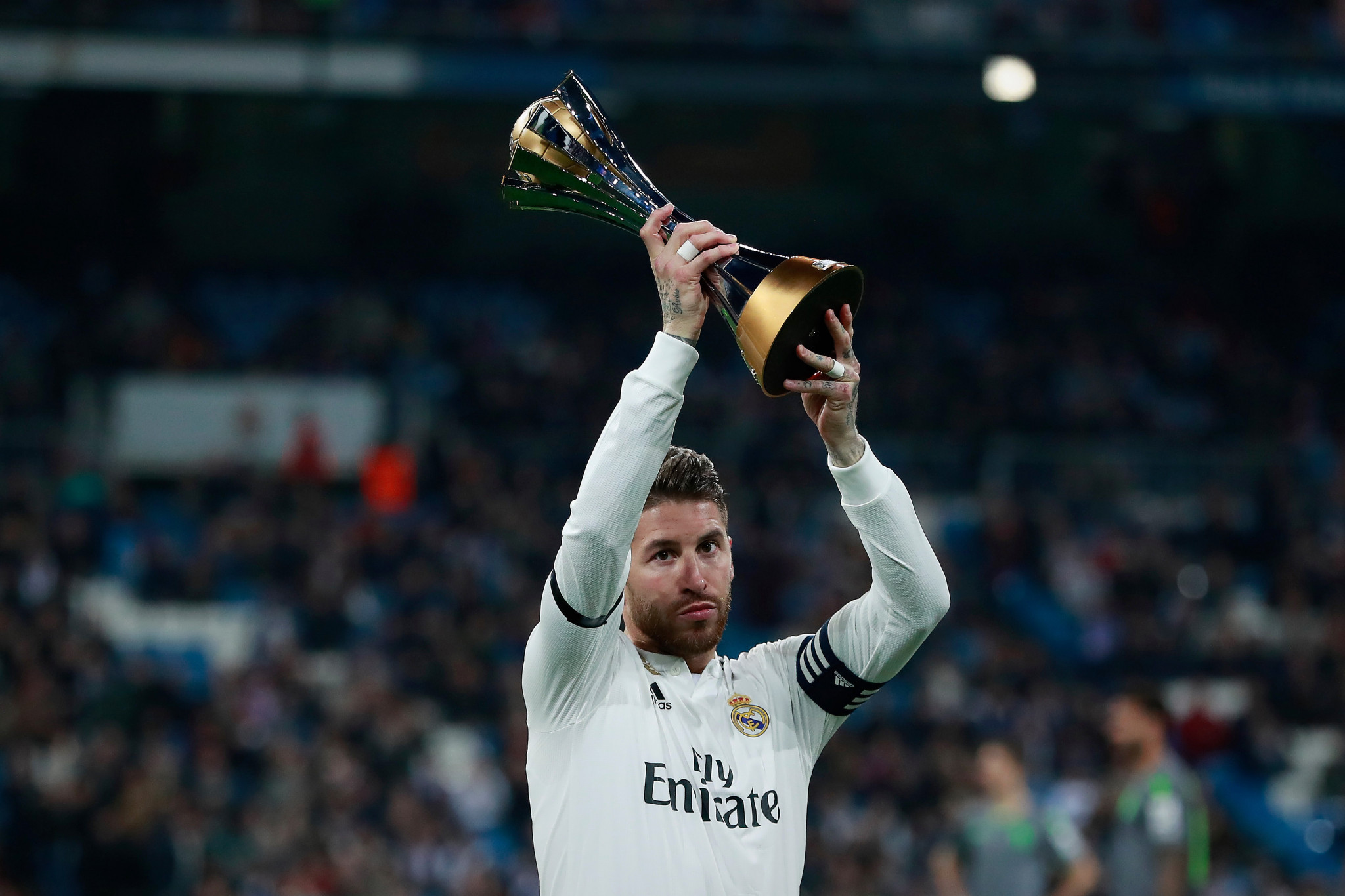 Spain's Real Madrid won the 2018 FIFA Club World Cup, which only consisted of seven teams ©Getty Images