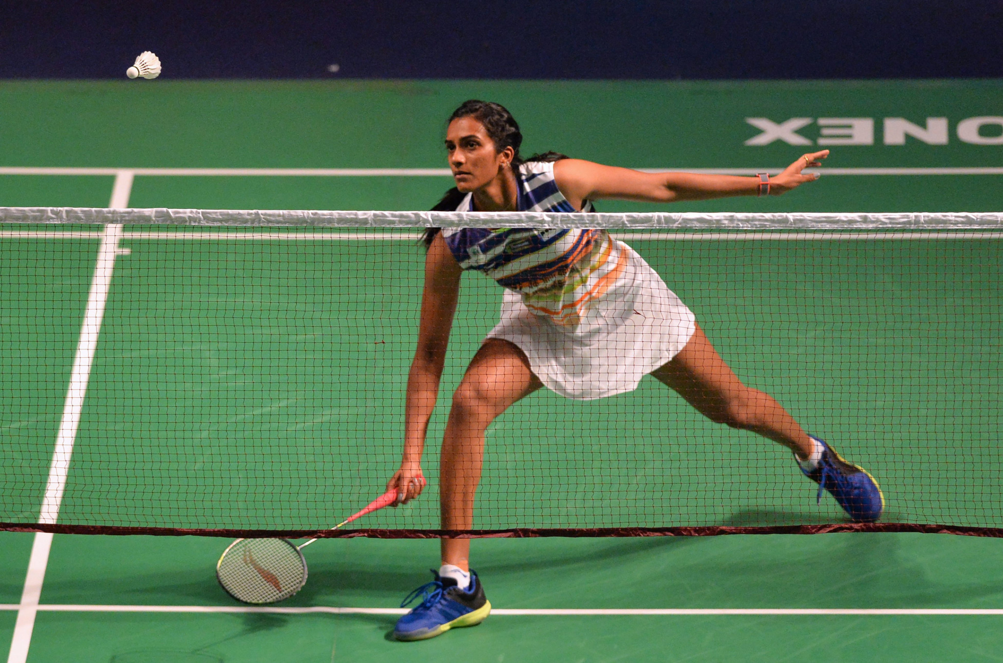 India's Sindhu Pusarla progressed into the quarter-final of the BWF India Open ©Getty Images