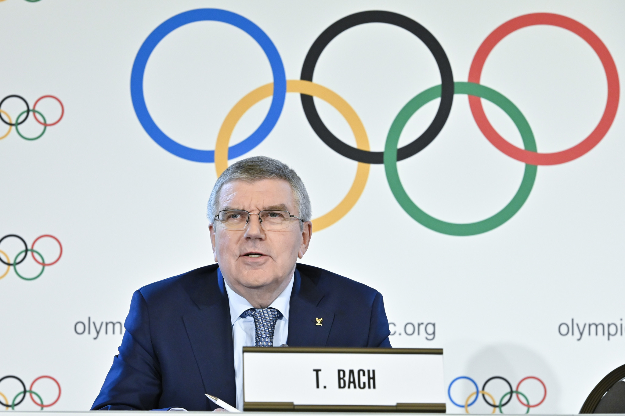 IOC President Thomas Bach insisted the organisation would not move towards a selection, rather than an election, process when deciding the host of the Olympic Games ©Getty Images