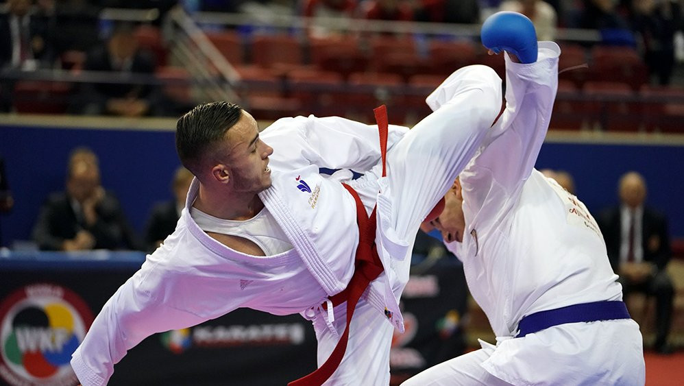 More than 500 athletes from 51 countries are registered to compete at the European Karate Championships ©WKF