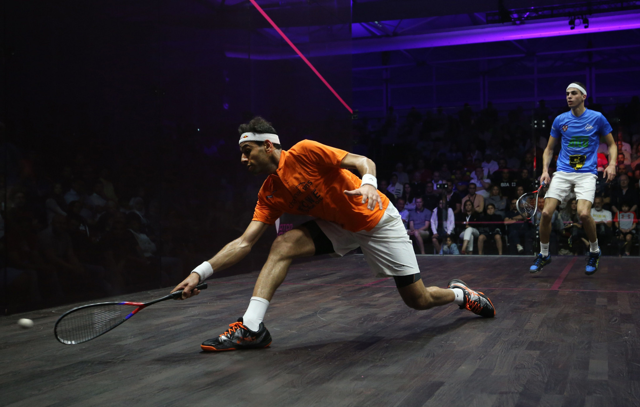 Top seed ElShorbagy wins opening match of Grasshopper Cup