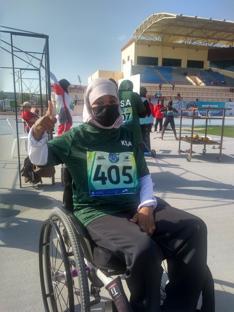 Athlete thanks King Salman after Saudi Arabian women compete at international Para-athletics meet for first time