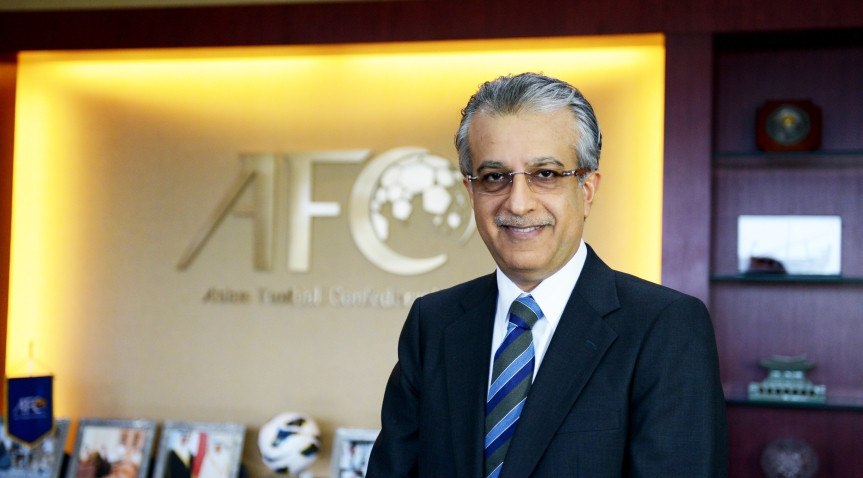 Sheikh Salman to be re-elected unopposed as President of AFC after last opponent withdraws