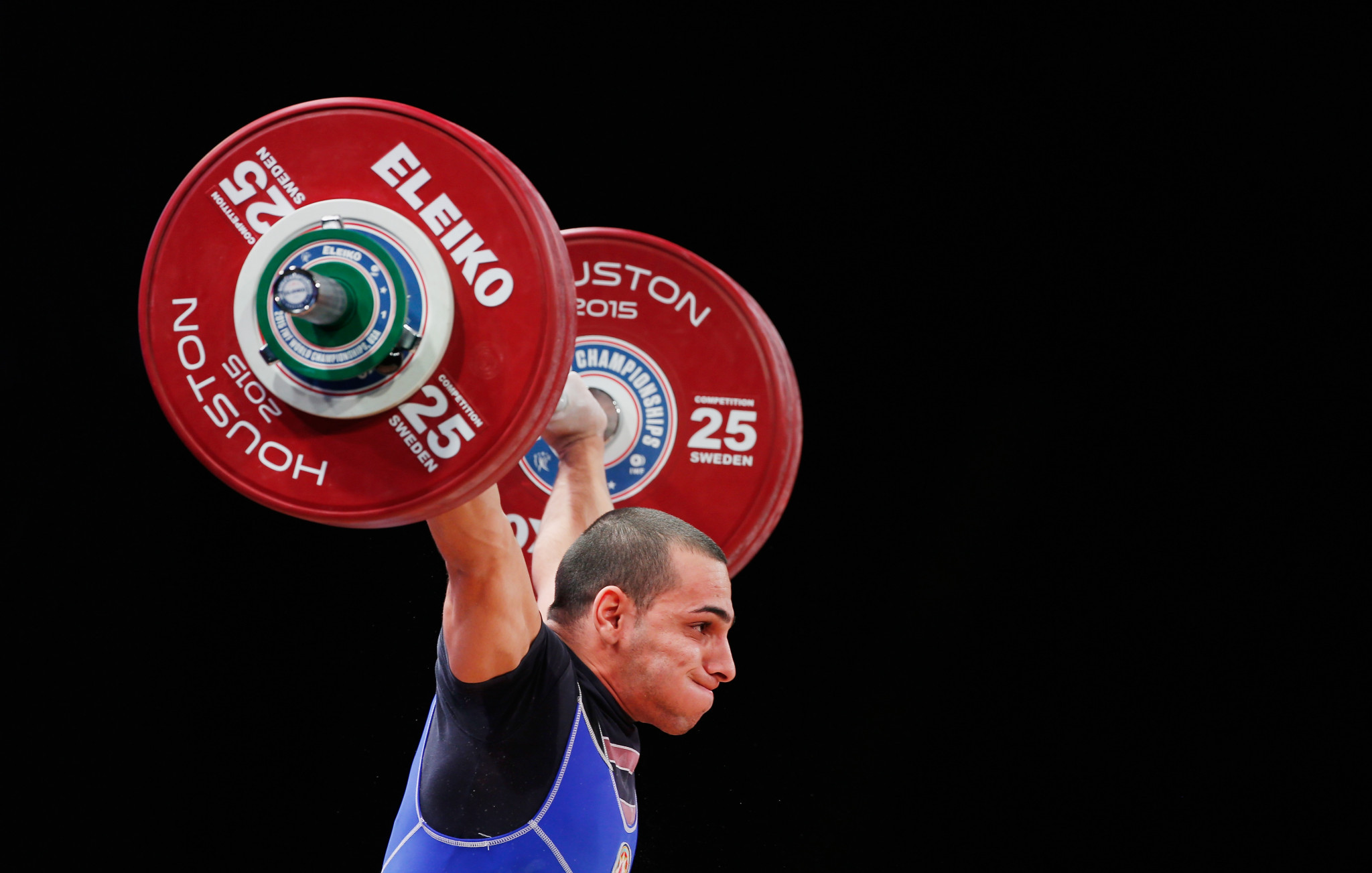 The Bulgarian-born Azeri weightlifter has now failed three separate drugs tests ©Getty Images