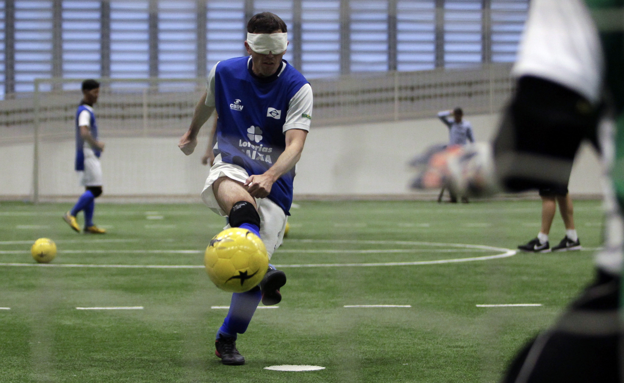 United States to form blind football team for Los Angeles 2028