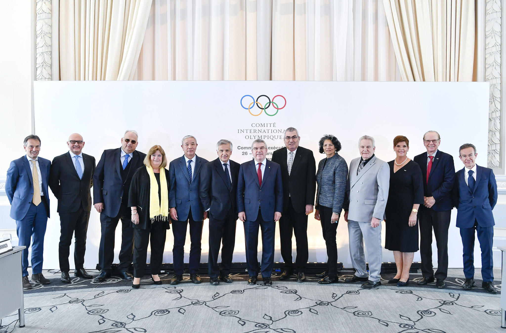 The IOC Executive Board will be presented with the full report from the Inquiry Committee into AIBA on May 22 ©IOC