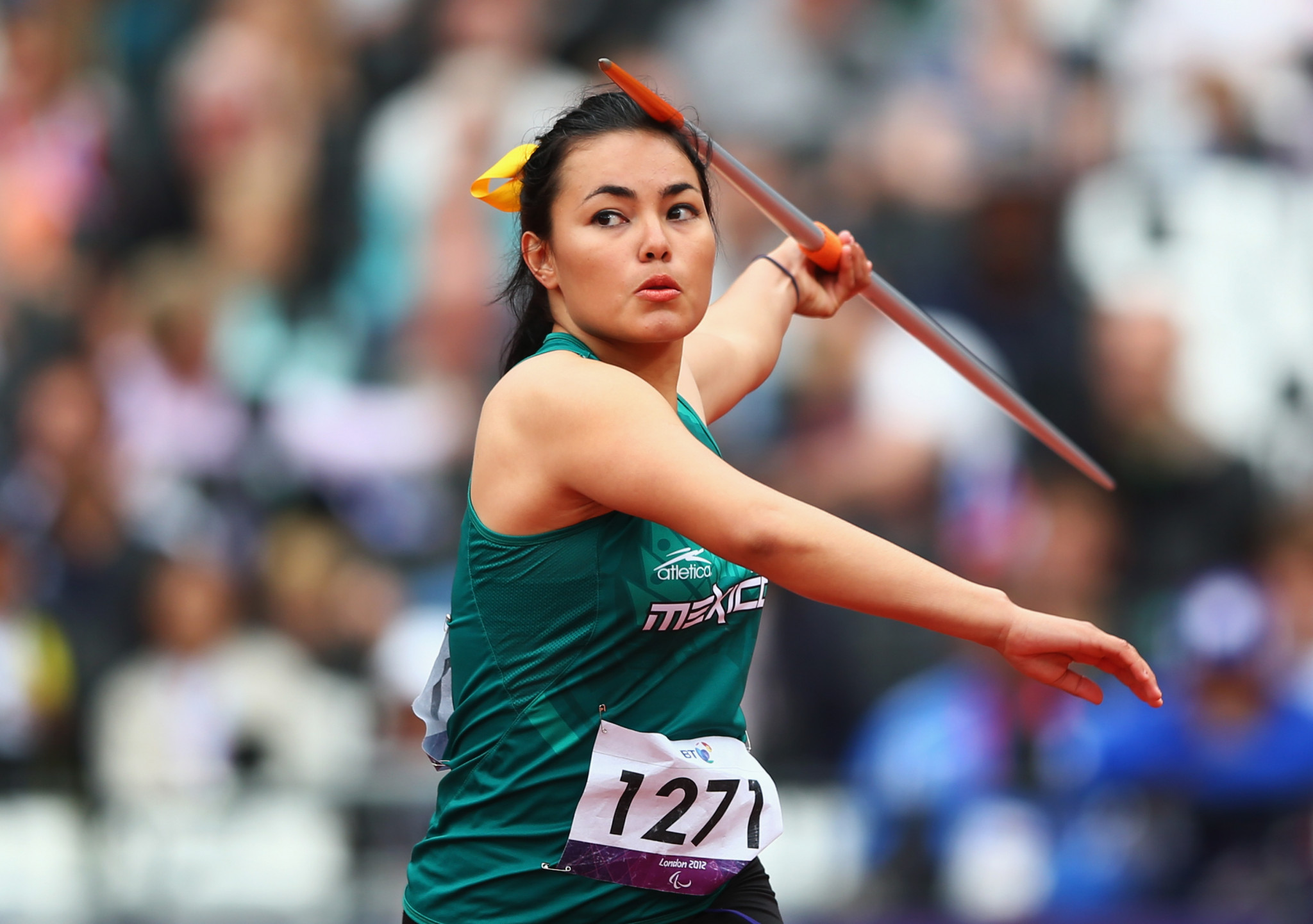 Mexican shot putter named Americas Paralympic Committee athlete of the month for February