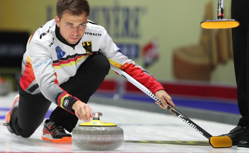 Germany will be skipped by Marc Muskatewitz, who is making his second appearance at a World Championship ©WCF