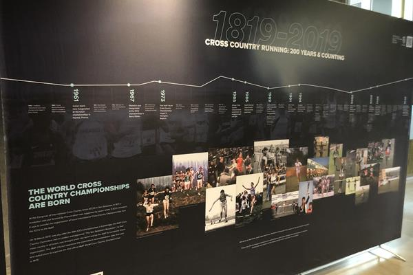 Heritage display in Aarhus highlights 200 years of cross-country prior to World Championships