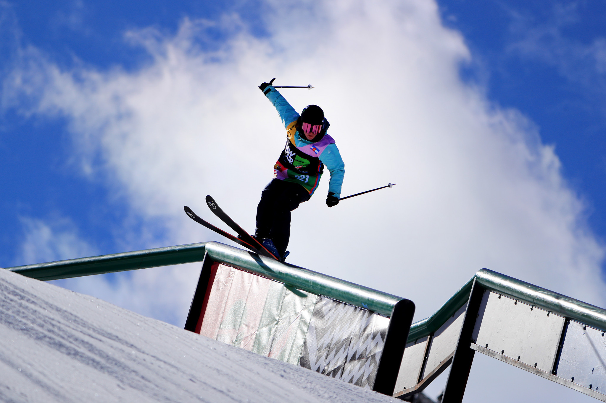 Olympic champion Hoefflin tops qualifying at last FIS Slopestyle World Cup of season