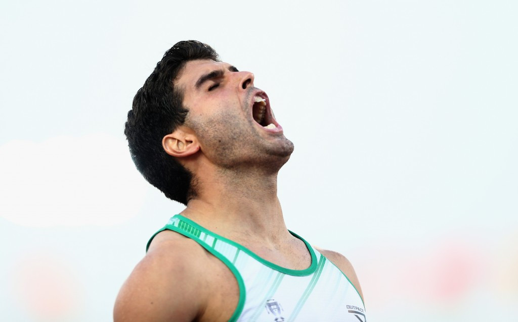 Portugl's Luis Goncalves claimed his first World Championship title, winning the  T12 400m
