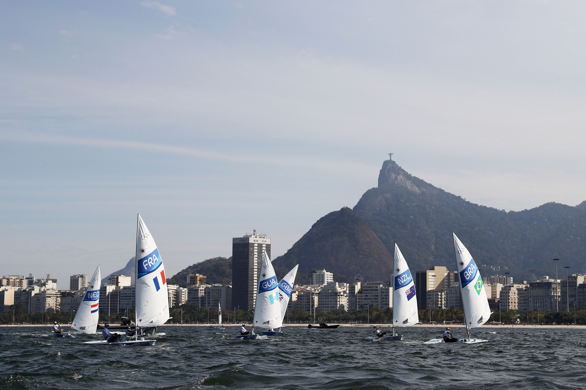 The International Laser Class Association is looking for a new company to manufacture the Olympic boat ©Getty Images
