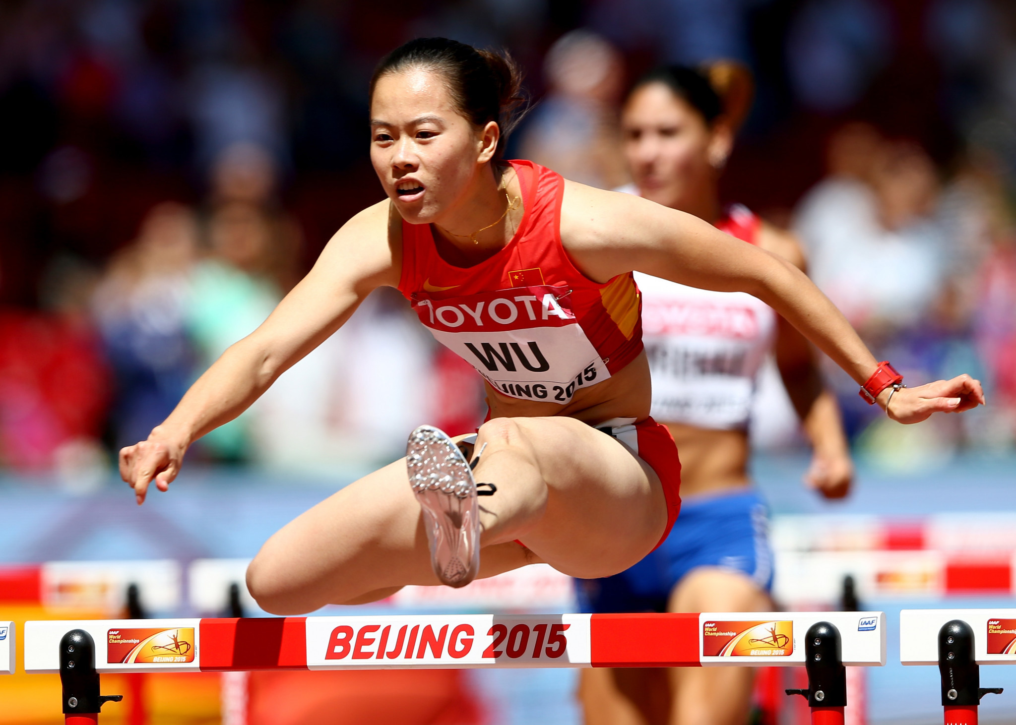Wu Shuijiao is the highest-profile Chinese athlete on the list ©Getty Images