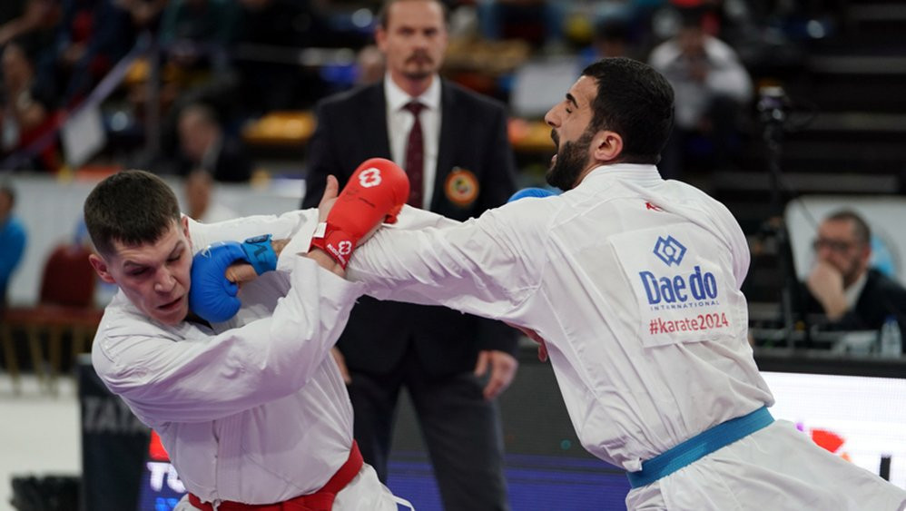 Turkey dominate day two of European Karate Championships in Guadalajara