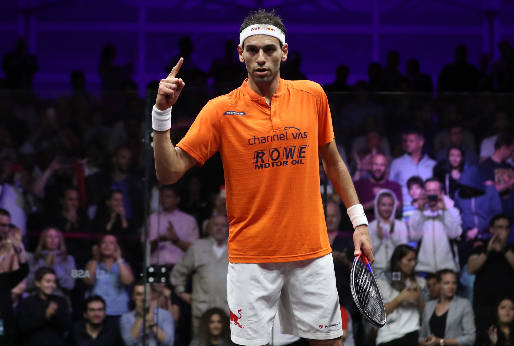 Mohamed Elshorbagy through to Grasshopper Cup semi-finals but top seed dumped out