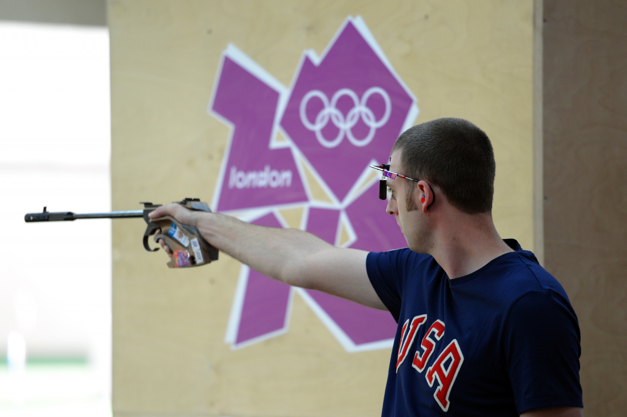 Olympic pistol shooter Nick Mowrer also booked his place in Lima ©Getty Images