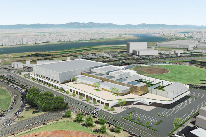 NOCK is hoping to hold a pre-Olympic Games camp for Team Kenya in Kurume, which features the Kurume Comprehensive Sports Centre ©Tokyo 2020