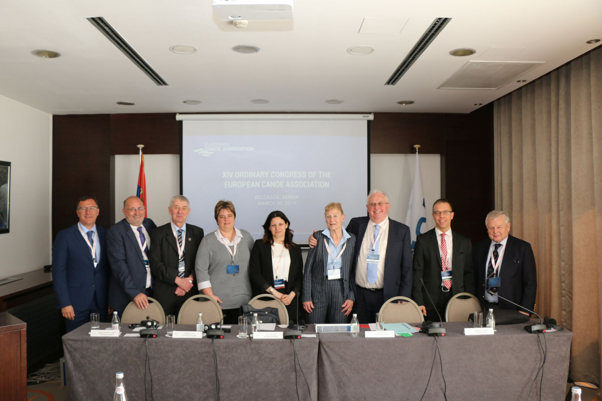 Woods re-elected unopposed as European Canoe Association President