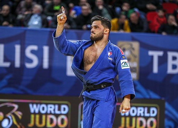 France's Guillaume Chaine continued his country's success at the IJF Grand Prix in Tbilisi ©IJF