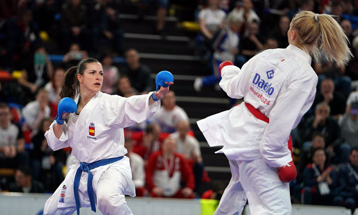 Laura Palacio won one of three golds for Spain on the third day of the European Karate Championships ©World Karate Federation
