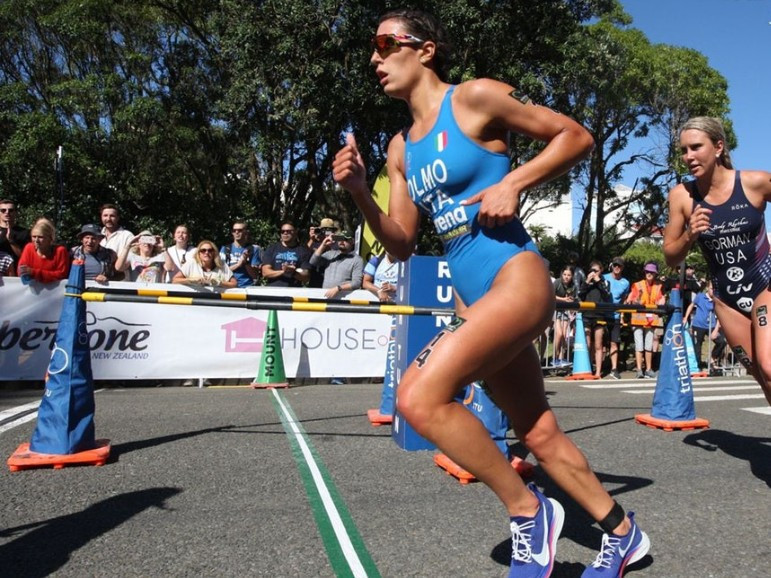 Olmo grabs first ITU Triathlon World Cup victory in New Plymouth