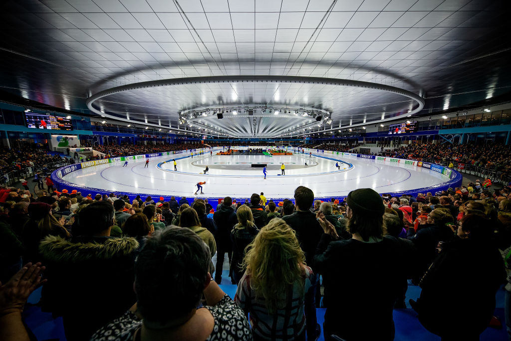 The Ice Rink Thialf in Heerenveen will host the senior World Cup final ©ISU