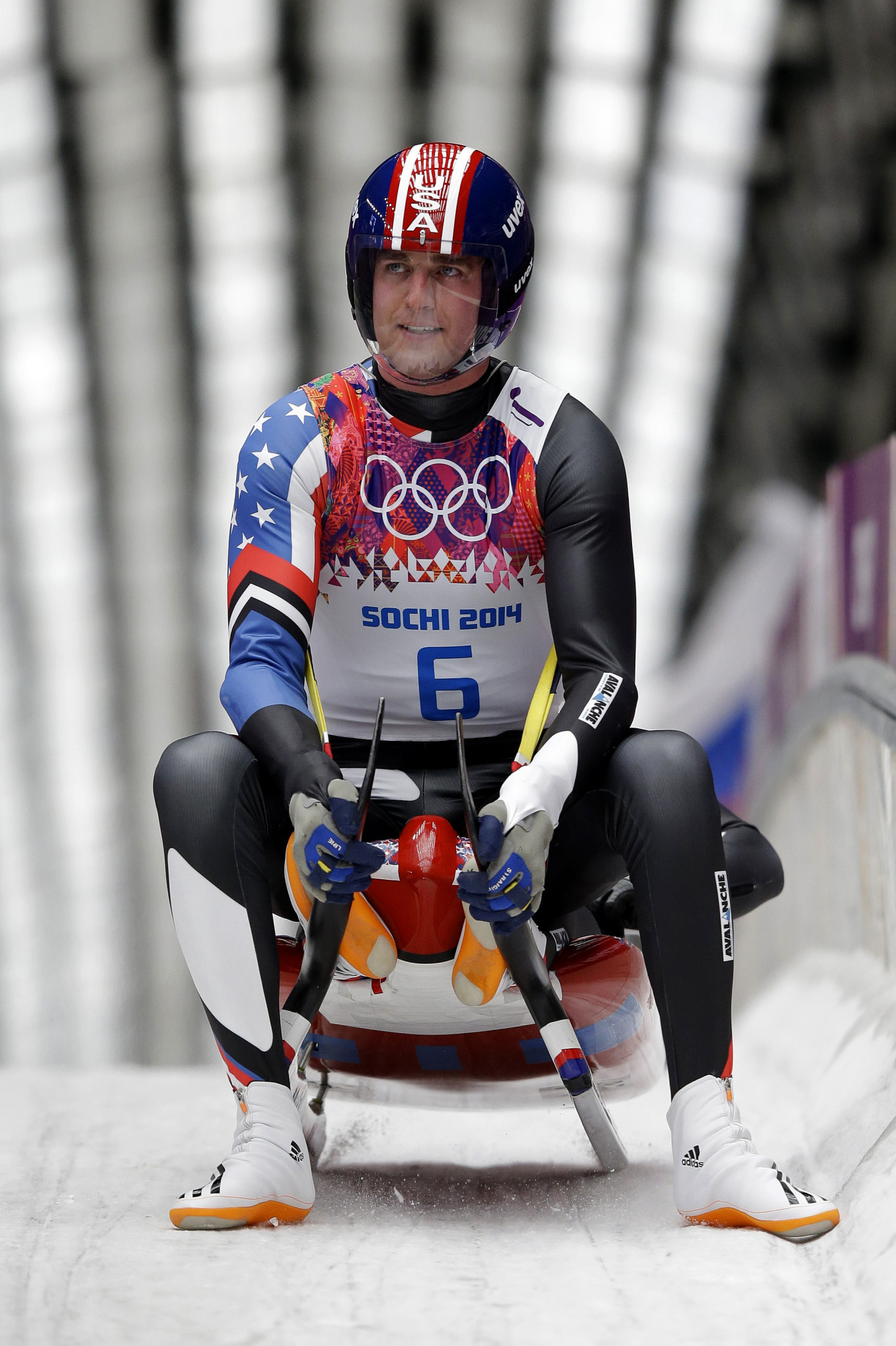 Three-time Olympian Christian Niccum was discovered through the
