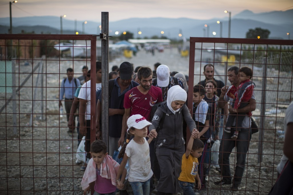 The IOC have been quick to repond following the escalation of the refugee crisis in Europe in recent weeks ©Getty Images