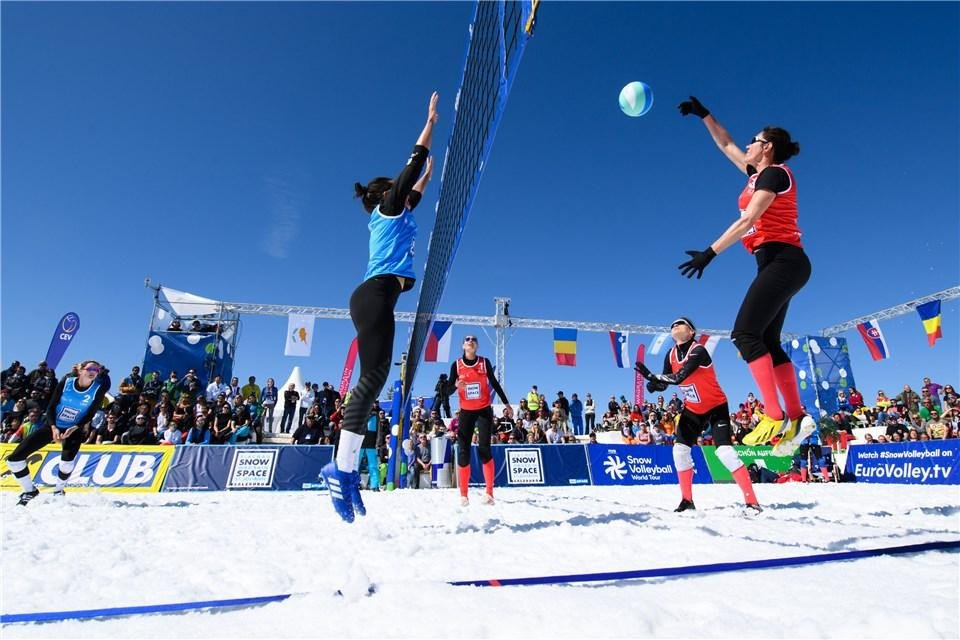 Russia and hosts Austria claim gold at FIVB Snow Volleyball World Tour