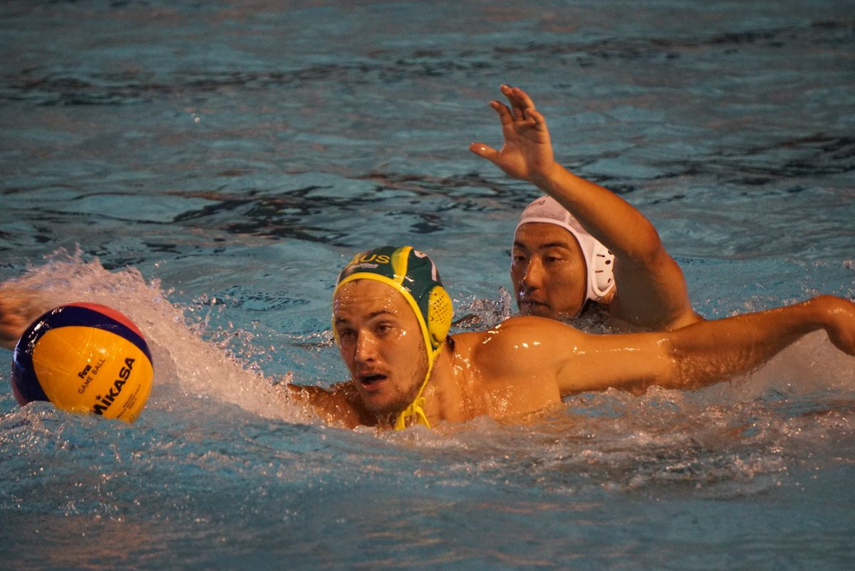 Australia beat Japan 10-8 in the men's final ©Water Polo Australia/Twitter