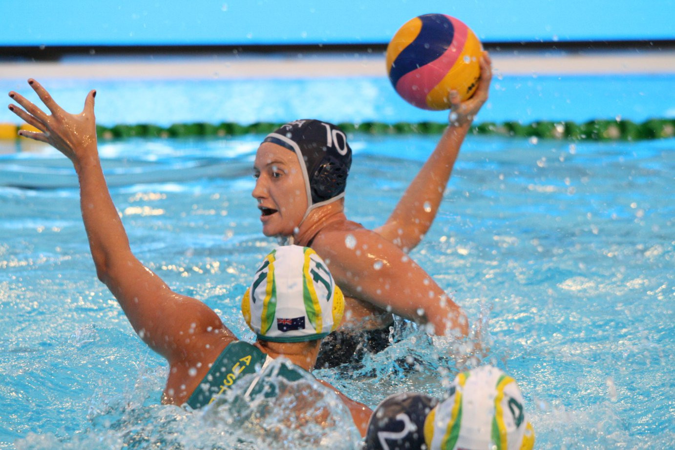 United States retain women's FINA Water Polo Intercontinental Cup with victory over Australia