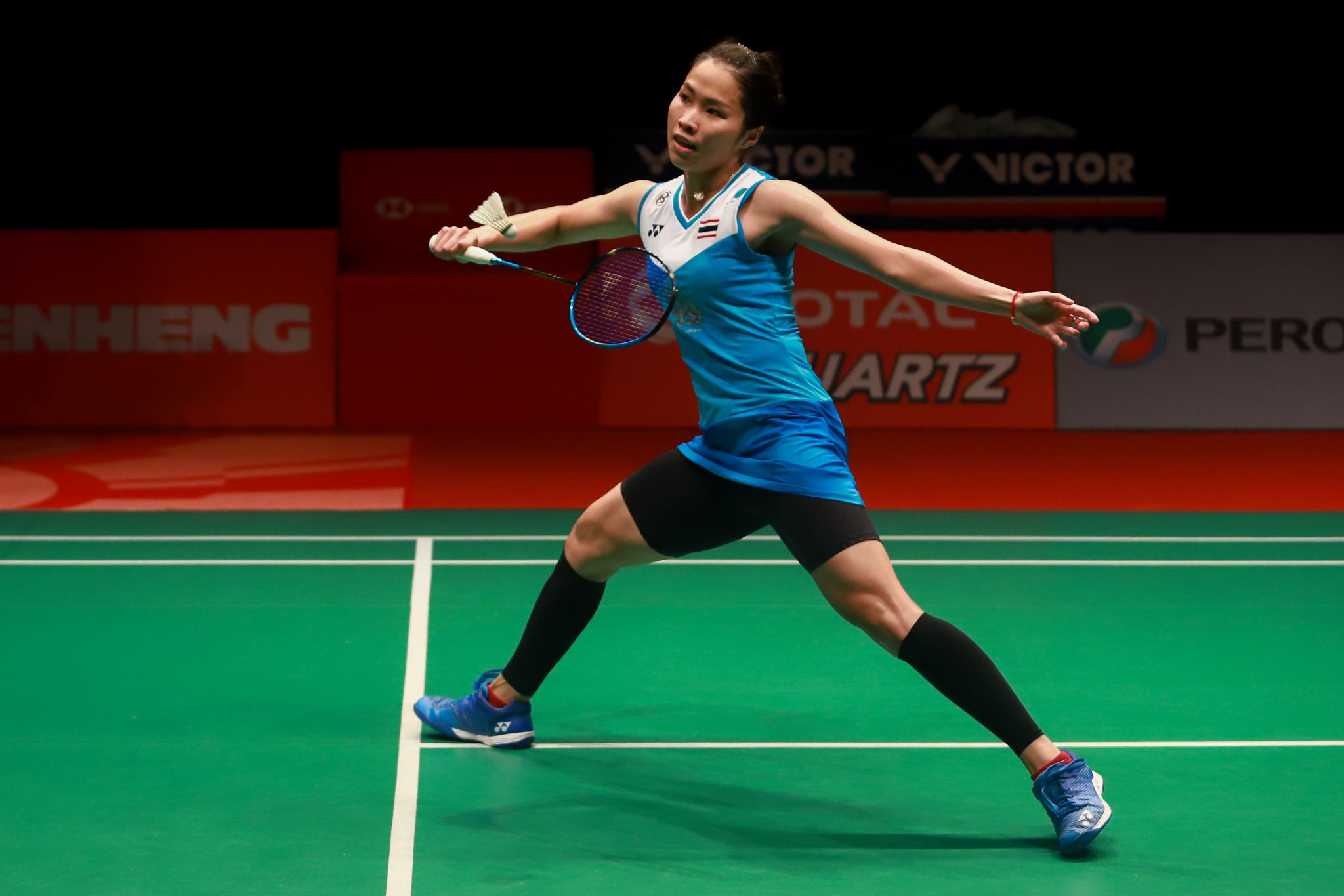Ratchanok Intanon won the women's event for the third time in her career ©Getty Images