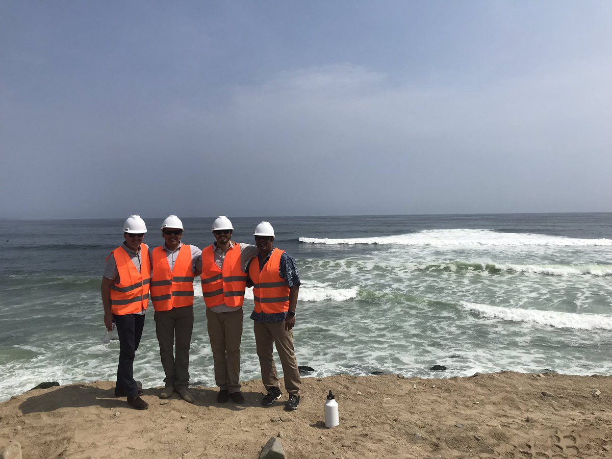 ISA delegation visits Lima to check progress for surfing and SUP debut at 2019 Pan American Games