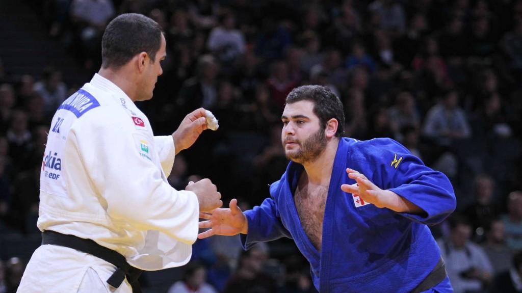 Georgia's Levani Matiashvili won the hosts' second gold medal of the IJF Grand Prix in Tbilisi ©IJF
