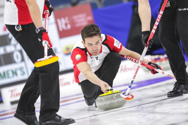 Canada continue perfect start on day two of World Men's
