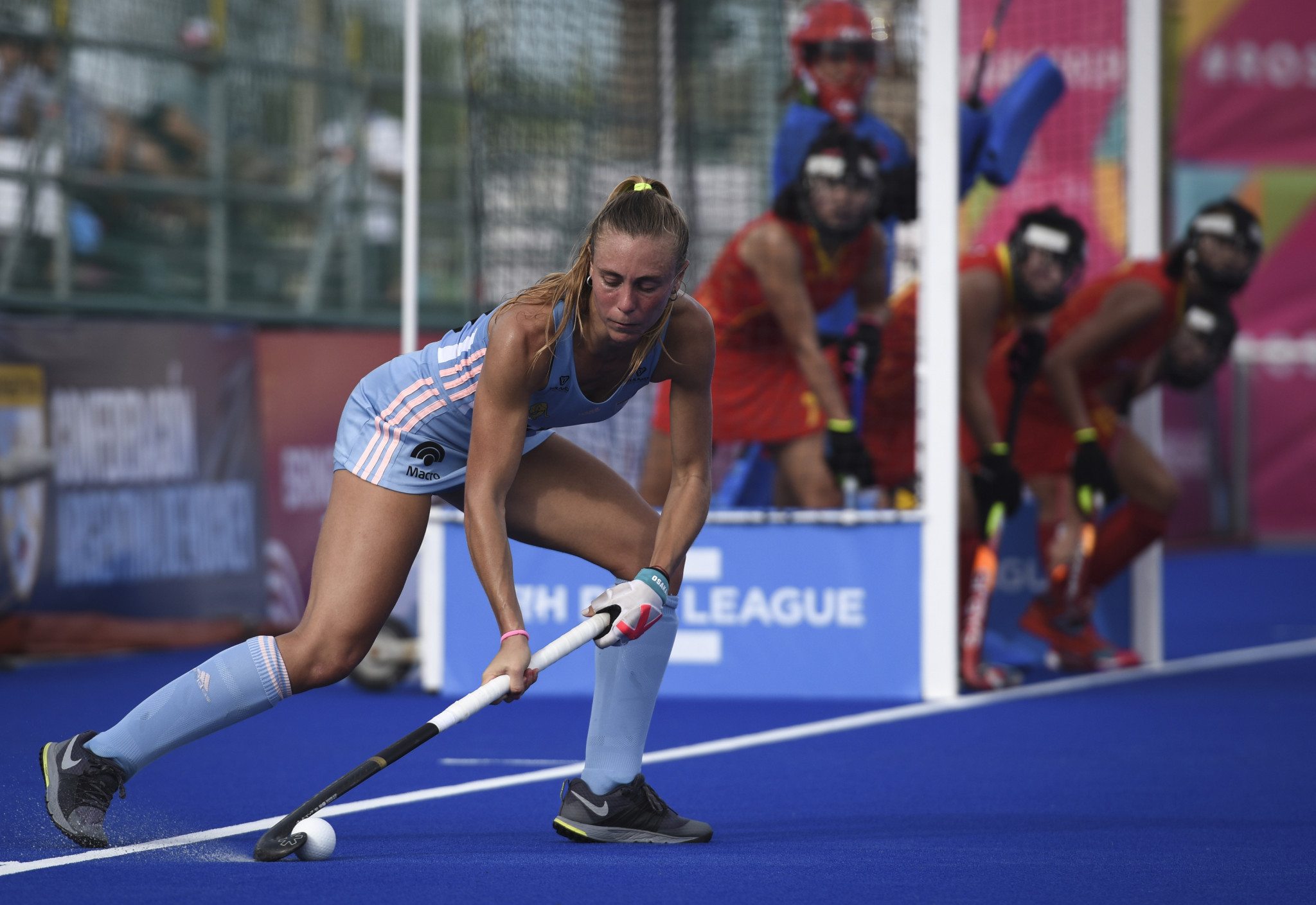 Argentina defeated China in their women's FIH Pro League fixture in Rosario ©Getty Images