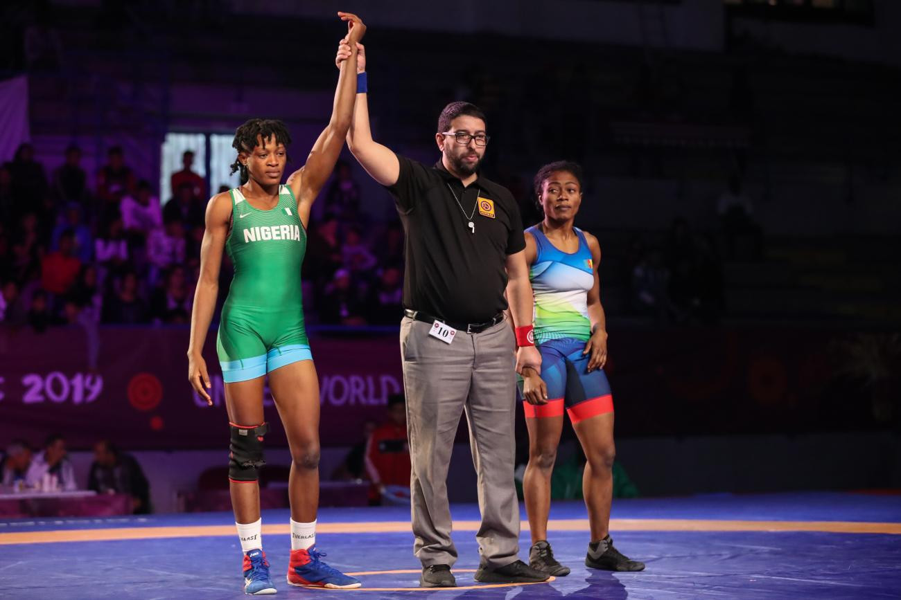 Nigeria claim women's team title at African Wrestling Championships