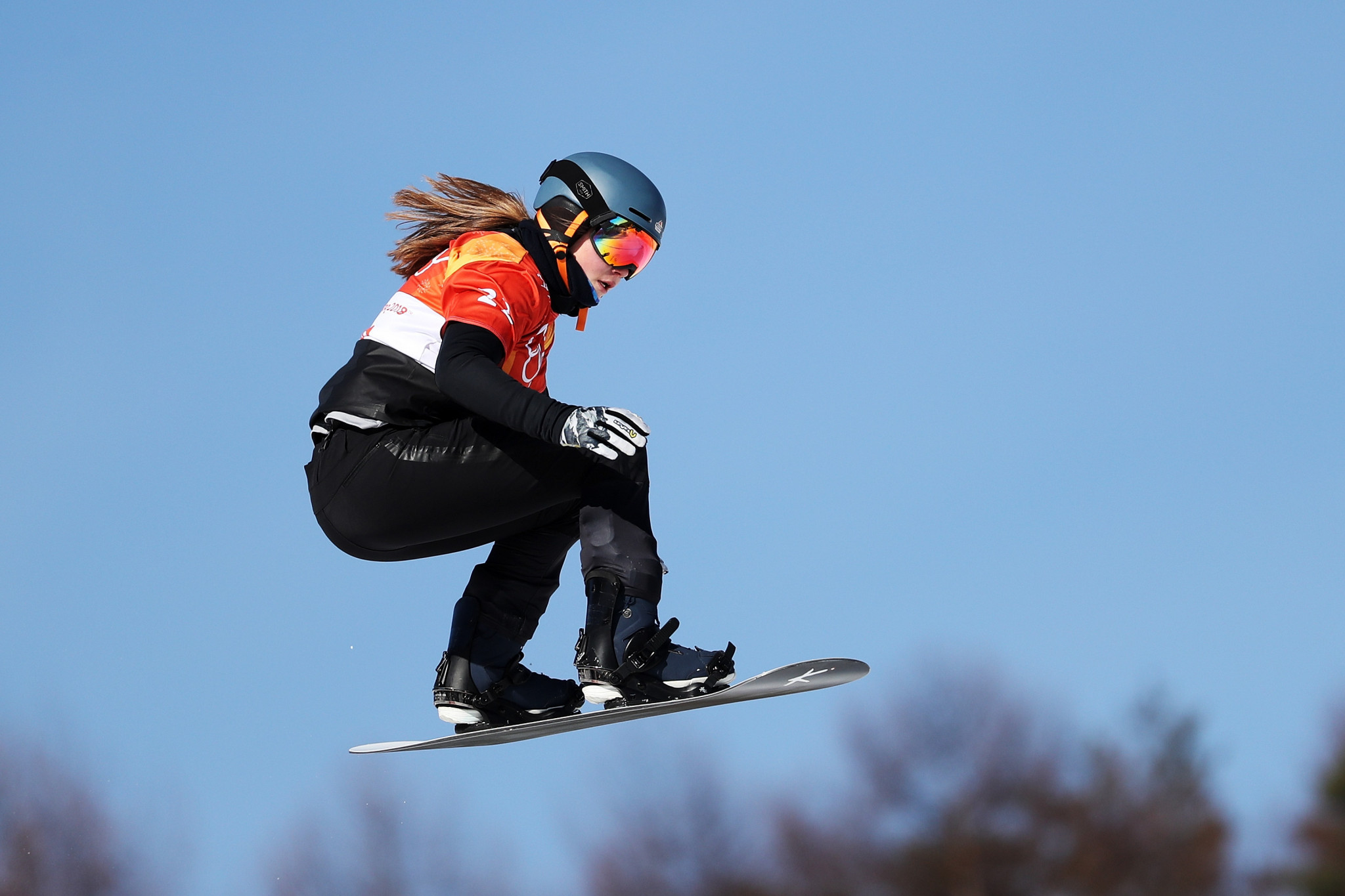 Fischer and Grondin top snowboard cross qualifying at FIS Freestyle Ski World Junior Championships